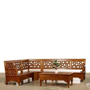 Teakwood Archives Home Furnitures Interiors In Thrissur Nellikuzhi Furniture Choose Online Shop Offline Classic Teak Wood In 2020 Wood Sofa Wooden Sofa Set Teak Wood