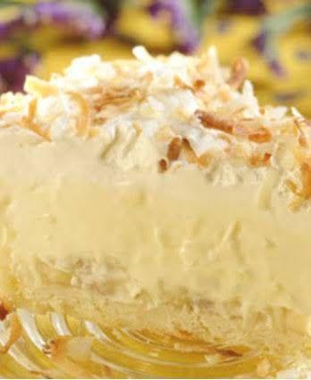 Easy Coconut Banana Cream Pie Recipe Yummly Recipe Coconut Cream Pie Easy Coconut Cream Pie Recipes Banana Cream Pie Recipe