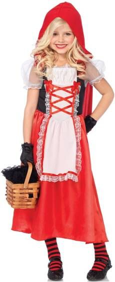 Elite Little Red Riding Hood Child Costume Wholesale Fairytale - halloween costumes for girls ideas