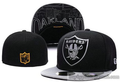 f4d1b6d0194 NFL Draft 59Fifty Original Fit Fitted Hats Oakland Raiders Size Caps ...