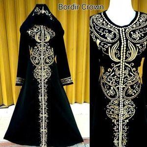 0896 9953 9935 Abaya Bordir Crown Farisa Olshop Abaya Manufacturer Uk Harga Abaya Harga Abaya Hikmat Fashion Harga Abaya Di Mekkah H Malang Hitam Mekkah