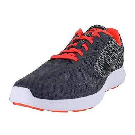 Nike Revolution 3, Zapatillas de Running Hombre, Gris (Wolf Grey/Track Red/Black), 43 EU