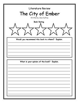 Book Review Literature Study The City Of Ember Gary Paulsen The Secret Book Literature