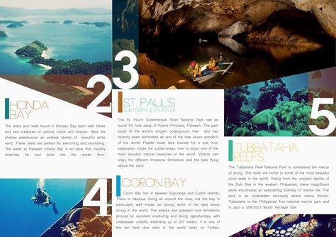 Travel Brochure By Kristina Bolante Via Behance  Walsworth