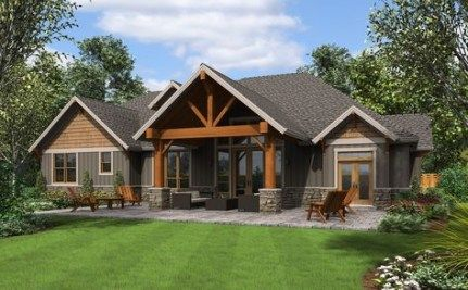 Trendy House Exterior Rustic Craftsman Style 31 Ideas Craftsman Style House Plans Craftsman House Plans Craftsman House Plan