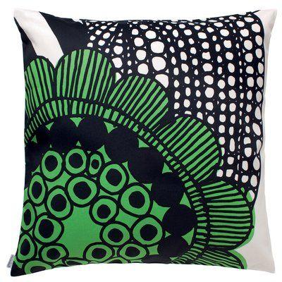 Marimekko S Siirtolapuutarha Cushion Cover Red Green