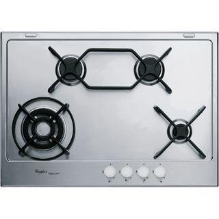 Piano cottura a gas Whirlpool: 4 fuochi - GMA 6414/IXL - Whirlpool ...