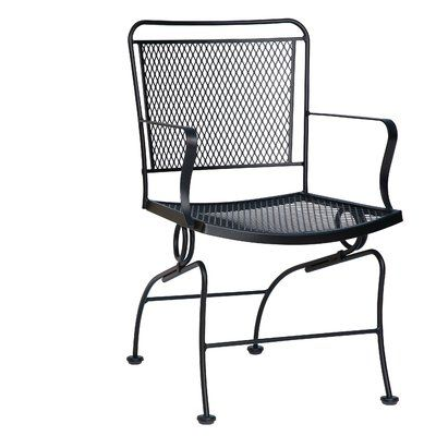 Coil Spring Patio Dining Chair Cushion