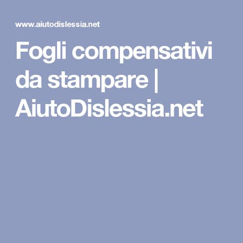 Disgrafia Schede Con Esercizi Di Recupero Italiano Learning