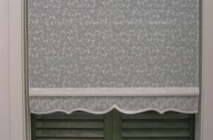 Lace Shades For Windows Lace Roller Blinds Are Ideal For A