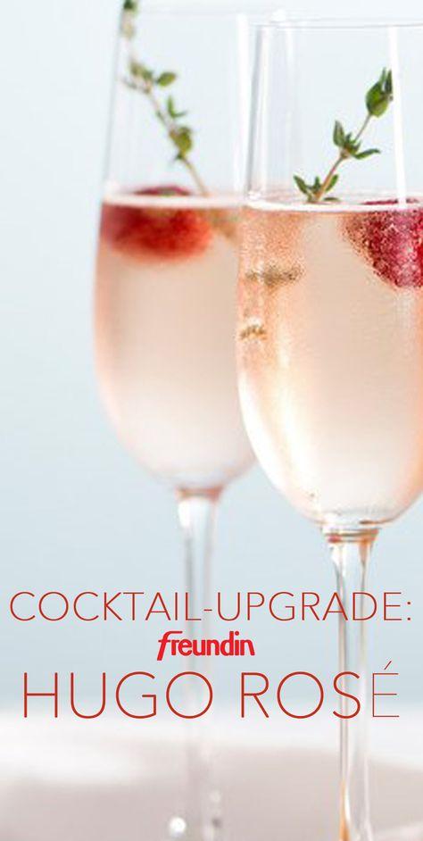 Leckeres Cocktail-Update: Hugo Rosé