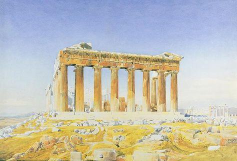 The Parthenon by Thomas Hartley Cromek