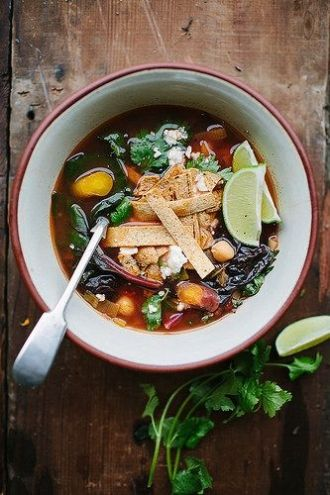 Caldo Tlalpeno Soup // aidamollenkamp.com #pairswellwithfood