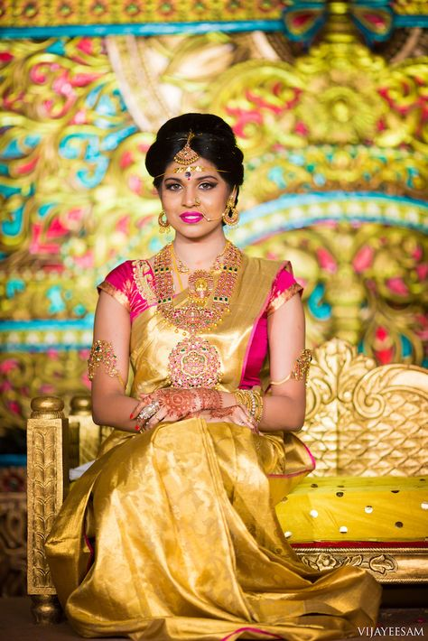 55 ideas for indian bridal saree color combinations gold