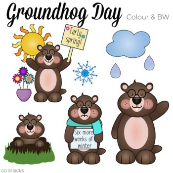 48+ Groundhog day clipart free ideas in 2021