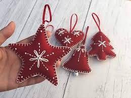 Scandinavian Felt Ornaments Google Search Felt Christmas Decorations Felt Christmas Tree Decorations Felt Christmas Ornaments