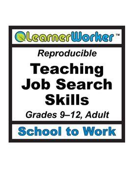 Teaching Job Search Skills Teaching Jobs Job Search Teaching