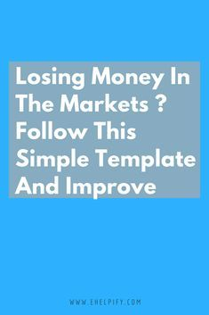 How To Stop Losing Money Trading A Trading Grade Sheet To Use