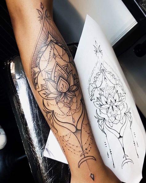 Frauen tattoo arm vorlage