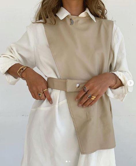 @mariakragmann X Knox Pleather Vest and Dress Set