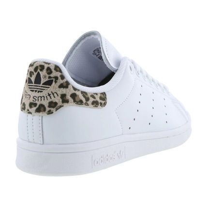 adidas STAN SMITH Leopard Patterns Low-Top Sneakers ...