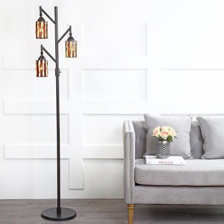 Homeglam Fusion Bubble Crystal 62 5 Inch H Floor Lamp Walmart Com Floor Lamp Lamp Cool Floor Lamps