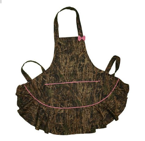 Pink Trim Camo Apron  Womens Plus/Reg True by CamoChiqueBoutique, $24.99