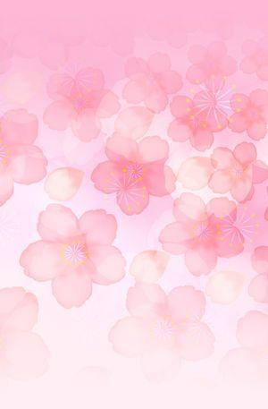桜和風 待ち受け ピンク 桜 壁紙 桜イラスト 花 イラスト