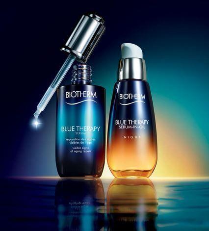 Review Blog Gamme Soin Et Serum Blue Therapy Par Biotherm Moisturizer For Sensitive Skin Biotherm Skin Moisturizer