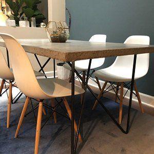Stahl Esstisch Tischbeine Metall Tischbeine 2er Set Eisen