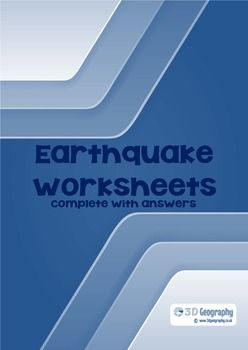 Earthquake Worksheets Complete With Answers Geography Worksheets Worksheets Earthquake