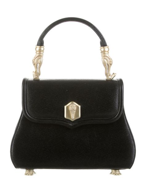 ICONIC Barry Kieselstein Cord Black texture leather goldtone