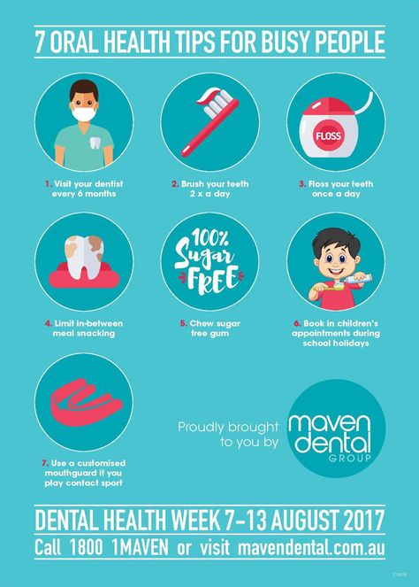 7 Oral Health Tips For Busy People