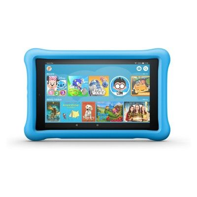 Amazon Fire Hd 8 Kids Edition Tablet 8 Hd Display 8th Generation 2018 Release Blue Kid Proof Case 32gb Fire Kids Kindle Fire Kids Kids Tablet