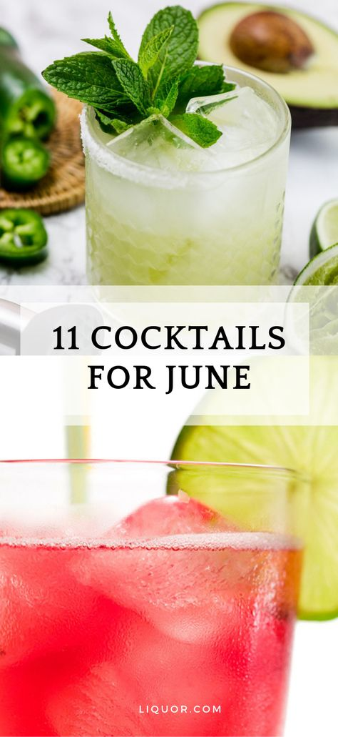 10 Cocktails Perfect For Summer Parties Easy Summer Cocktails