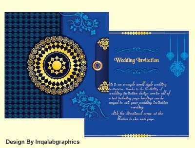 Wedding Card Background Free Download Wedding Invitation Vector Wedding Cards Graphic Design Wedding Invitations