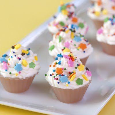 Surprising Birthday Cupcake Jelly Shot With Images Birthday Jello Shots Personalised Birthday Cards Akebfashionlily Jamesorg