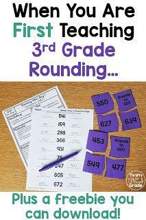 Teaching Rounding in 3rd Grade - Thrifty in Third Grade