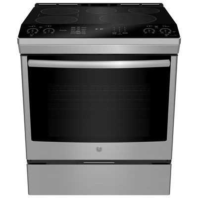 Ge Profile 30 5 Element Slide In Smooth Top Electric Induction