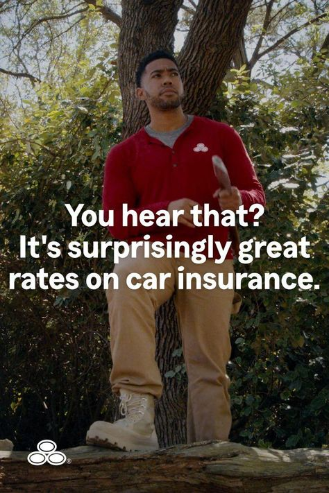 If you're in the woods and no one's around, is your car insurance rate still surprisingly great? With State Farm, it is.