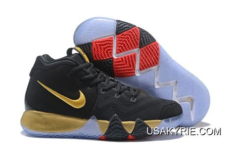 2018 Men's Kyrie 4 BRUCE LEE Basketball Shoes Tour YellowBlack