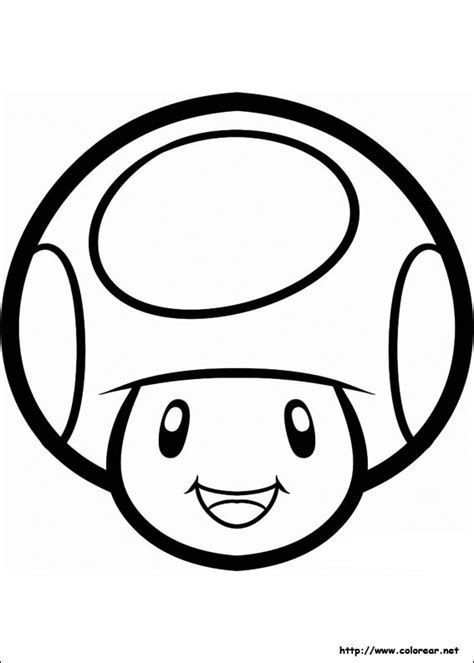Image Result For Mario Printables Coloring Pages Mushroom Mario