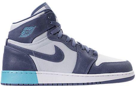 83be818f22fc Nike Girls  Grade School Air Jordan Retro 1 High (3.5y-9.5y) Basketball  Shoes