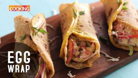 Home Cooking We always wonder what to make when we have leftover chapatis and when we want to whip up something quick and tasty. Here's an easy and tasty recipe to Egg Frankie or Egg Wrap. This has minimal ingredients but you can alter the veggies and condim