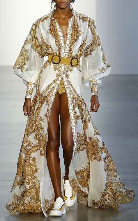Zippy Billow Silk Maxi Dress by ZIMMERMANN for Preorder on Moda Operandi