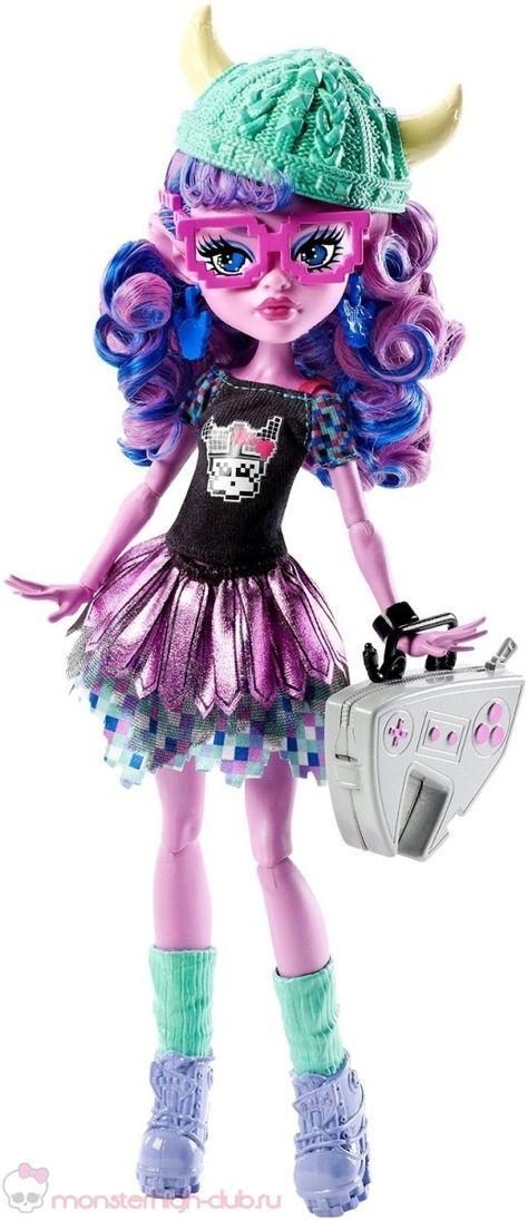 Monster High Kjersti Trollson Monster Exchange Brand-Boo Students