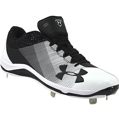 Under Armour Ignite Low Steel Mens Baseball Cleats Rogan S Shoes Baseball Cleats Softball Shoes Cleats