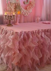 Tutu Table Skirt Pricess Party
