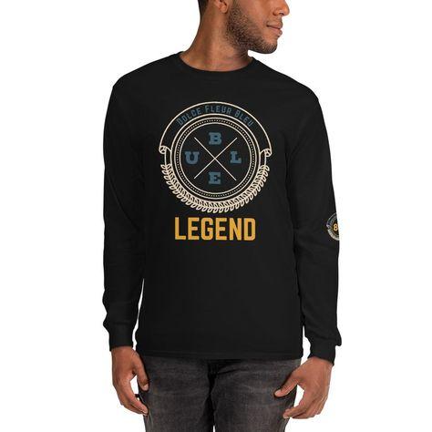 Legend Long Sleeve Shirt - Black / S