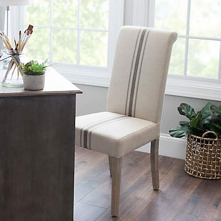 Middle Stripe Weathered Wood Dining Chair Dining Room Chairs Wood Furniture Design Dining Chairs